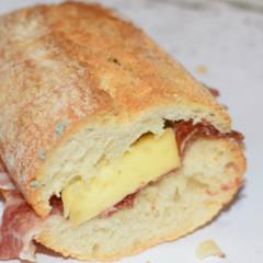 Ibérico con queso azul