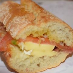 Ibérico con queso Brie