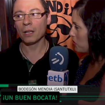 El Bodegón Mendia en televisión