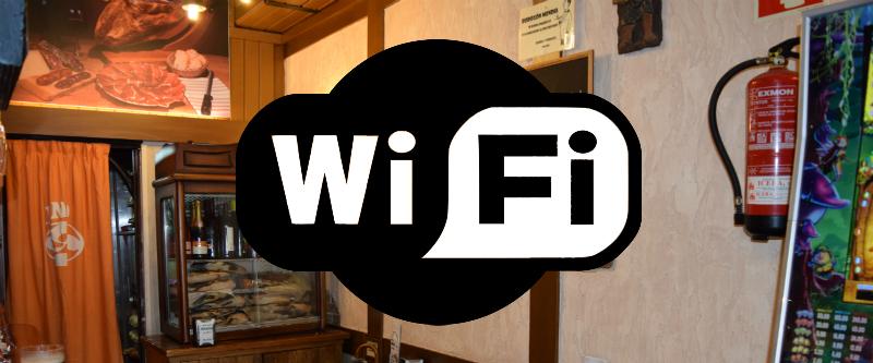 Wifi en el Bodegón Mendia