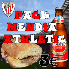 Pack Mendia para los partidos del Athletic