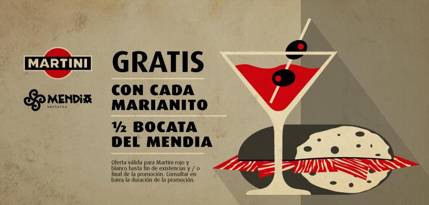 Promoción Marianitos Martini Mendia