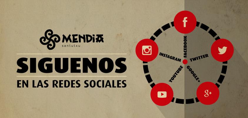 Mendia Santutxu - Siguenos en las Redes Sociales